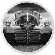 Dodge Truck 1947 Round Beach Towel