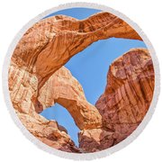 Double Arch Round Beach Towel
