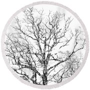 Round Beach Towel featuring the photograph Double Exposure 1 by Steve Stanger
