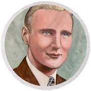 Dr. James Roderick II Round Beach Towel