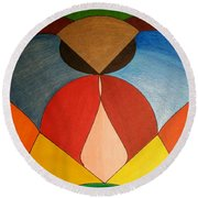 Dream 336 Round Beach Towel