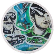 Earnhardt Legacy Round Beach Towel