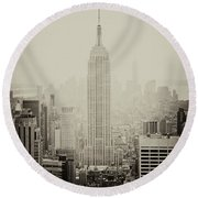 Empire Round Beach Towel