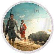 Empire Star Wars Round Beach Towel