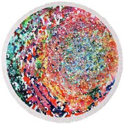 Espirit Round Beach Towel