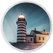 Everlight Round Beach Towel
