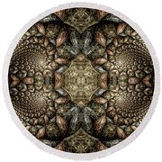 Ezekiel Round Beach Towel