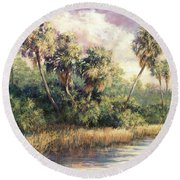 Fairchild Gardens Round Beach Towel
