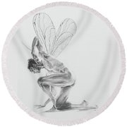 Fairy Dancer Round Beach Towel