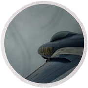 False Flight Round Beach Towel