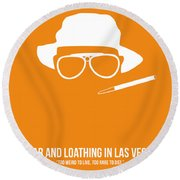 Fear And Loathing In Las Vegas Round Beach Towel