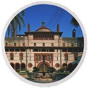 Flagler College - St Augustine, Florida Round Beach Towel