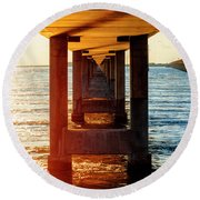 Flare Round Beach Towel