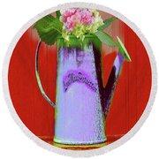 Floral  Art 375 Round Beach Towel