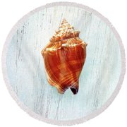 Florida Fighting Conch II Round Beach Towel