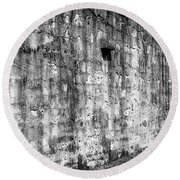 Round Beach Towel featuring the photograph Fortification by Steve Stanger