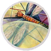Fragments Of Healing Round Beach Towel