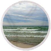 Fresh Water Round Beach Towel
