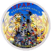 Gasparilla 2019 Work A Round Beach Towel