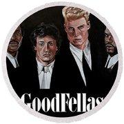 Goodfellas - Champions Edition Round Beach Towel