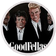 Goodfellas - Champions Edition Round Beach Towel