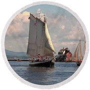 Grace Bailey Round Beach Towel