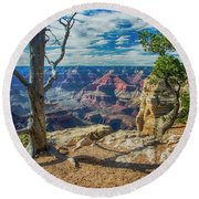 Grand Canyon Springs New Life Round Beach Towel