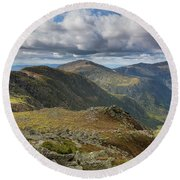 Gulfside Trail - White Mountains, New Hampshire Round Beach Towel