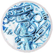 Harbour Hook Round Beach Towel
