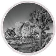 Hidden Valley Rock Round Beach Towel