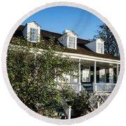 Historic Meadow Garden Augusta Ga Round Beach Towel