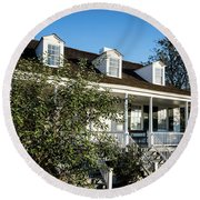 Historic Meadow Garden Augusta Ga Round Beach Towel