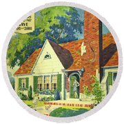 Honor Bilt Modern Homes Sears Roebuck And Co 1930 Round Beach Towel