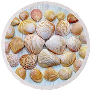 I Wish To Sea Round Beach Towel
