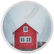 If My Heart Was A House Round Beach Towel