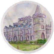 Inverary Castle Round Beach Towel