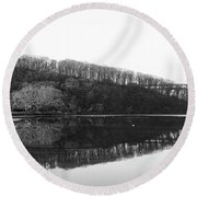 Inwood Reflections Round Beach Towel