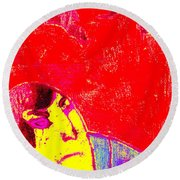 Japanese Pop Art Print 6 Round Beach Towel