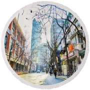 Jing An Round Beach Towel