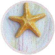 Jungle Sea Star Round Beach Towel