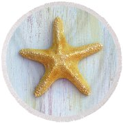 Jungle Sea Star Round Beach Towel