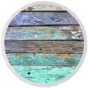 Just Right Round Beach Towel
