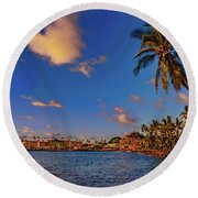Kailua Bay Round Beach Towel