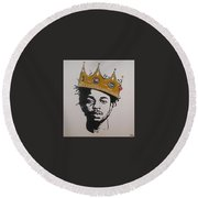 Kendrick The King Round Beach Towel