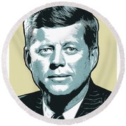 Kennedy 31oct18 Round Beach Towel