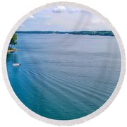 Keuka Days Round Beach Towel