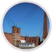 King Mill - Augusta Ga 2 Round Beach Towel