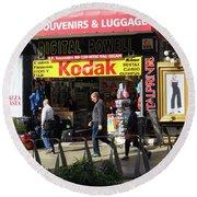 Kodak Store Round Beach Towel