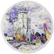 The Rochelle - Digital Remastered Edition Round Beach Towel