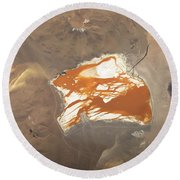 Laguna Colorada Round Beach Towel